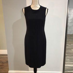 Lauren Ralph Lauren Navy Sleeveless Sheath Dress